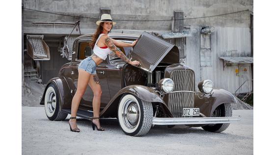 Календарь Miss Tuning 2019: Muscle car и одна красотка