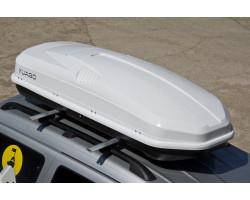 Автобокс Antares YUAGO (580 л.) Серый,Белый,Черный (тиснение)