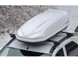 Автобокс Avatar EURO YUAGO (460 л.) Серый, Белый, Черный (тиснение)