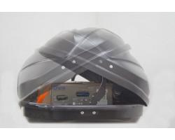 ДВУСТОРОННИЙ Автобокс YUAGO Avatar (Euro Lock) (460 л.) Серый,Белый,Черный (тиснение)