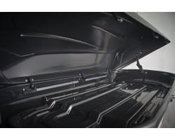 ДВУСТОРОННИЙ Автобокс YUAGO Avatar EURO (460 л.) Серый,Белый,Черный (тиснение)
