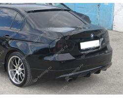 Юбка заднего бампера BMW 3 E90