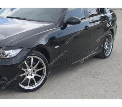 НАКЛАДКИ НА ПОРОГИ BMW 3 E90