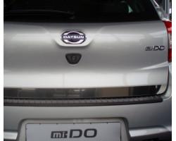 Накладка на задний бампер АртФорм (АБС) Datsun Mi-Do (хэтчбек) с 2014 г.в.