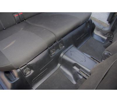 Накладки на ковролин под заднее сиденье Лада Гранта   LADA Granta с 2014 г .в. АртФорм (2 шт.)