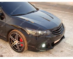 "КАПОТ ПЛАСТИКОВЫЙ VAR №1 ""AGRESSIVE WATERPROOF"" HONDA ACCORD 8(VIII) / ACURA TSX (CU2) (2008-2013)"
