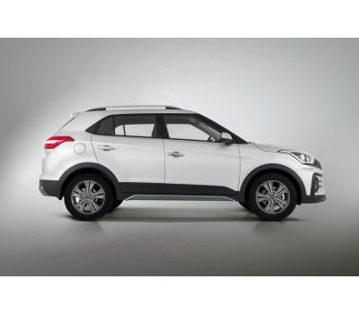 Накладка на порог Hyundai Creta