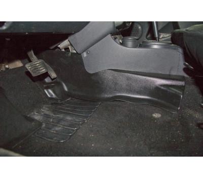 Накладки ковролина Ниссан Террано | Nissan Terrano центральные туннель пола АртФорм с 2014 г.в. (2шт)