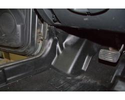 Накладки на ковролин передние Ниссан Террано | Nissan Terrano (2 шт.) АртФорм с 2014 г.в. (рестайлинг)