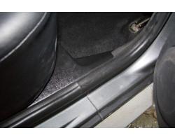 Накладки на ковролин задние Ниссан Террано | Nissan Terrano с 2014 г.в. АртФорм (2 шт)