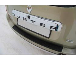 "Накладка на задний бампер Рено Дастер ""АртФорм"" | Renault Duster с 2011 г.в."