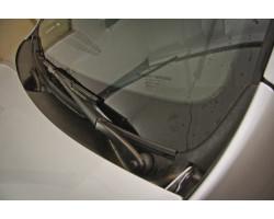 Накладка в проём стеклоочистителей (Жабо БЕЗ СКОТЧА) Рено Дастер | Renault Duster АртФорм с 2011 г.