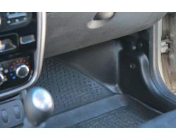 Накладки ковролина передние Рено Сандеро Степвей 2 | Renault Sandero Stepway 2 (4 шт.) АртФорм с  2014 г.в.