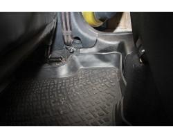 Накладки на ковролин задние Рено Сандеро 2 | Renault Sandero 2 (2 шт.) АртФорм с 2014 г.в.