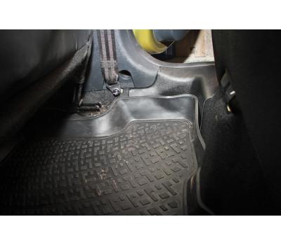 Накладки на ковролин задние Рено Сандеро Степвей 2 | Renault Sandero Stepway 2 (2 шт.) АртФорм с  2014 г.в.