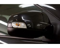 Накладки на зеркала Рено Логан   Renault Logan с 2012 г.в. (в цвет автомобиля) АртФорм