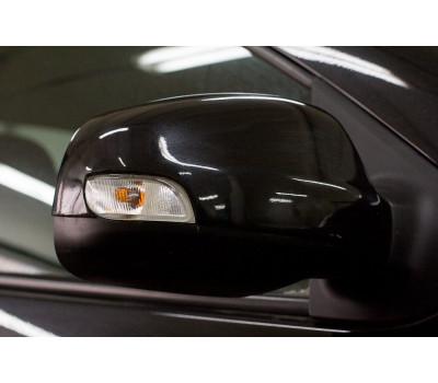 Накладки на зеркала Рено Логан | Renault Logan с 2012 г.в. (в цвет автомобиля) АртФорм