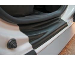 Накладки в проём дверей Рено Дастер | Renault Duster (4 шт) АртФорм c 2011 г.в.