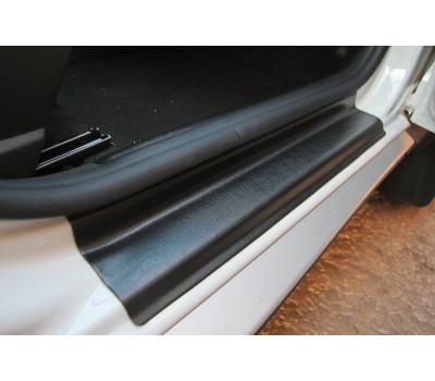 Накладки в проём дверей Рено Дастер   Renault Duster (4 шт) АртФорм c 2011 г.в.