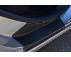 Накладки в проём дверей Рено Логан   Renault Logan (4 шт) АртФорм Седан c 2014 г.в.