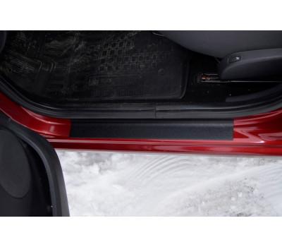 Накладки в проемы передних дверей KART RS (АБС) Renault Sandero с 2009 по 2014 г.в.