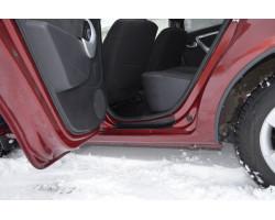 Накладки в проемы задних дверей KART RS (АБС) Renault Sandero с 2009 по 2014 г.в.