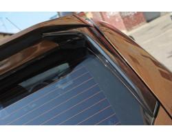 Спойлер очищающий стекло Рено Дастер | Renault Duster (в цвет автомобиля) АртФорм с 2011 г.в.