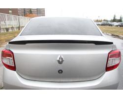 Спойлер Рено Логан   Renault Logan АртФорм (в цвет автомобиля) Седан c 2014 г.в.