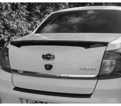 """Спойлер - лип """"АртФорм"""" (неокрашенный) Datsun On-Do c 2014 г.в."""