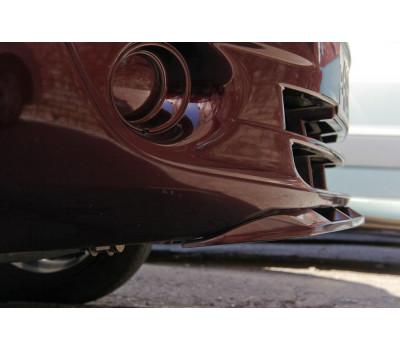Нижний спойлер переднего бампера цвет (неокрашенный) Лада Гранта с 2011 г.в.