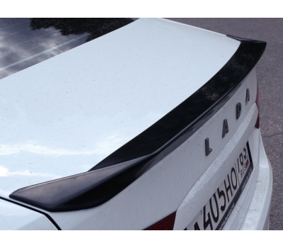 "Спойлер "" Стелс   Stels "" крышки багажника Лада Веста Седан   LADA Vesta Sedan"