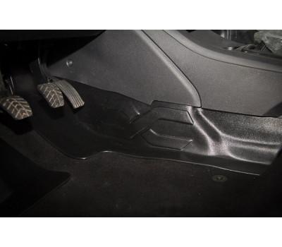 Накладка на ковролин тоннельная Лада Веста | LADA Vesta АртФорм (АБС) с 2016 г.в.(1шт)